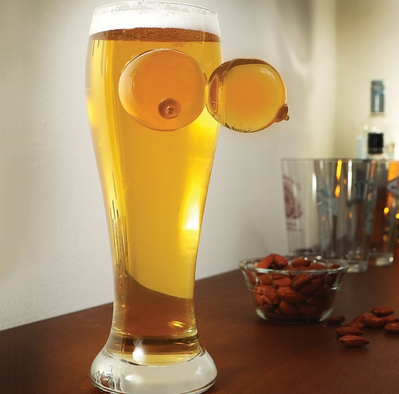 Boobs Beer Glass