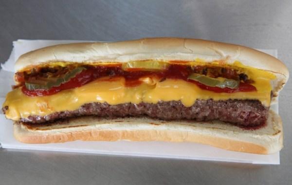 Cheeseburger Hotdog