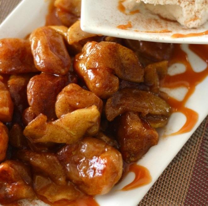 Caramel Apple Dumpling Bites