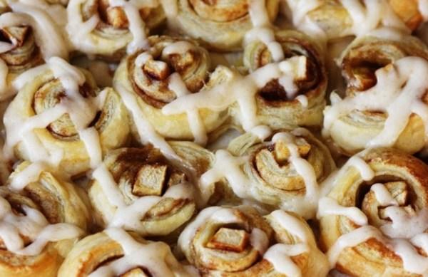 Apple Dumpling Cinnamon Rolls