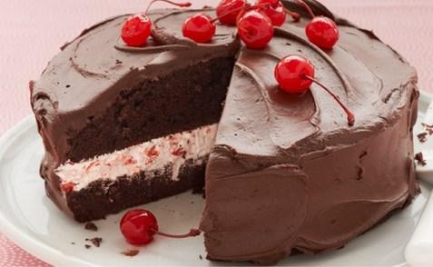 Cherry Jubilee Cake