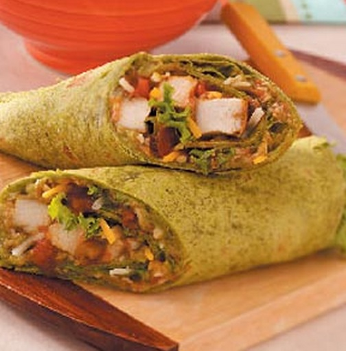 Guacamole Chicken Wrap