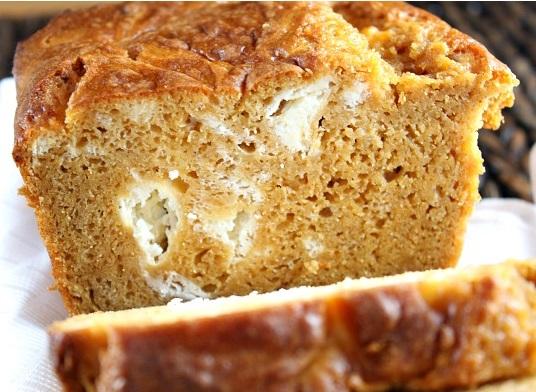 Pumpkin & Cream Cheese Swirl Bread
