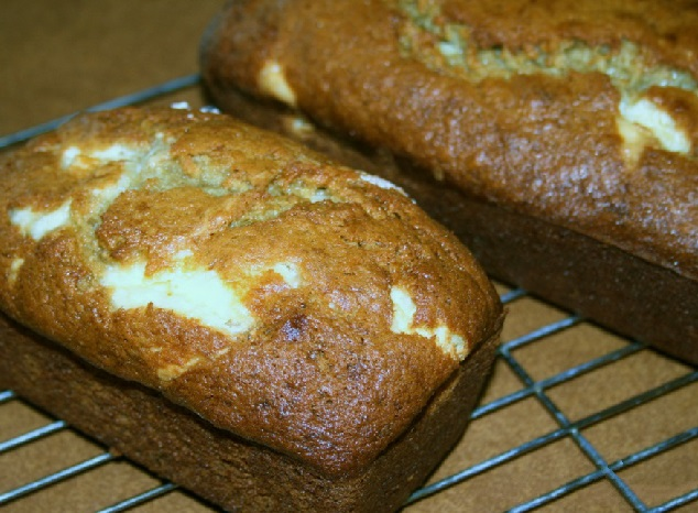 Banana & Cream Cheese Bread