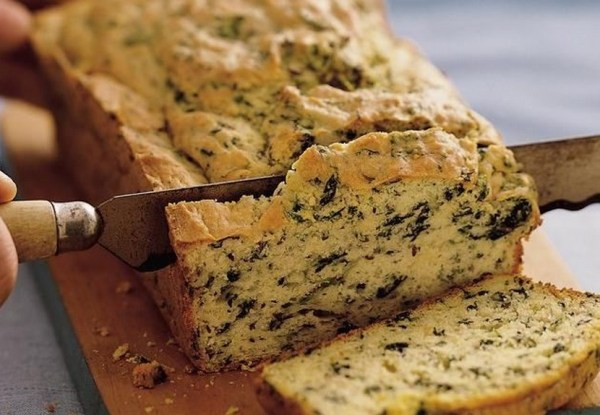 Spinach & Cheese Bread