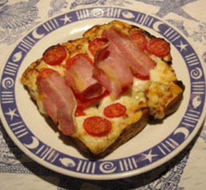 Deluxe Cheese on Toast