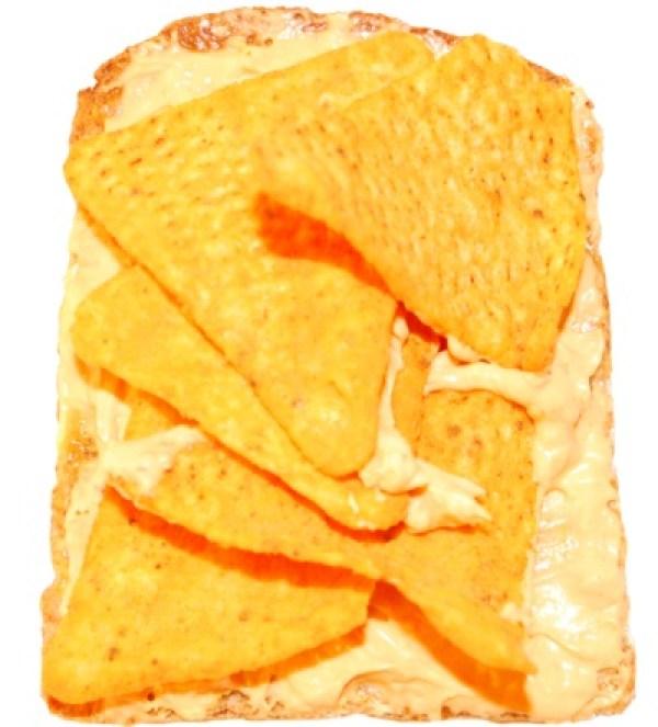 Nachos & Cheese Dip On Toast