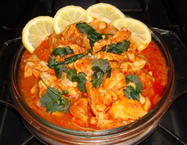 Hyderabad Curried Chicken