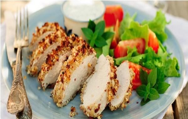Curried Chicken with Yoghurt Crust