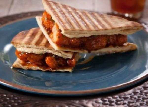 Spicy Curried Chicken Panini