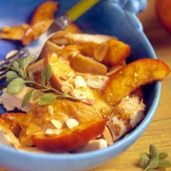 Sauteed Chicken with Brandied Fruit