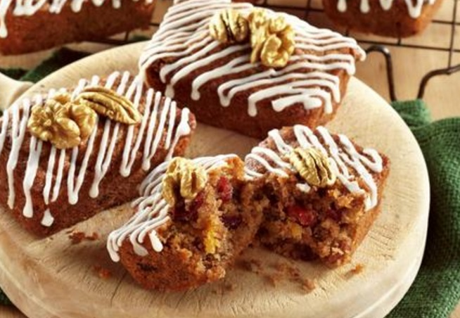 Gluten Free - Nutty Carrot Cakes