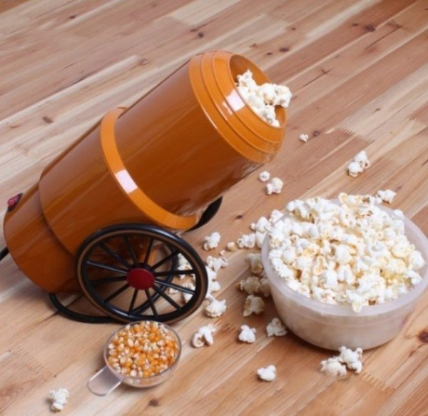 Cannon Shaped Popcorn Maker