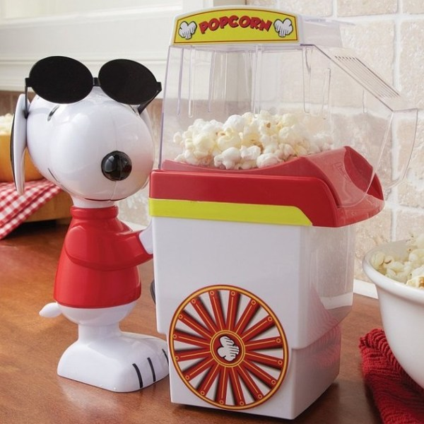 Snoopy Popcorn Hot Air Popper