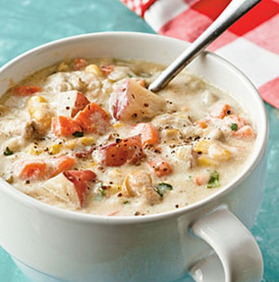 No-Cream New England Clam Chowder