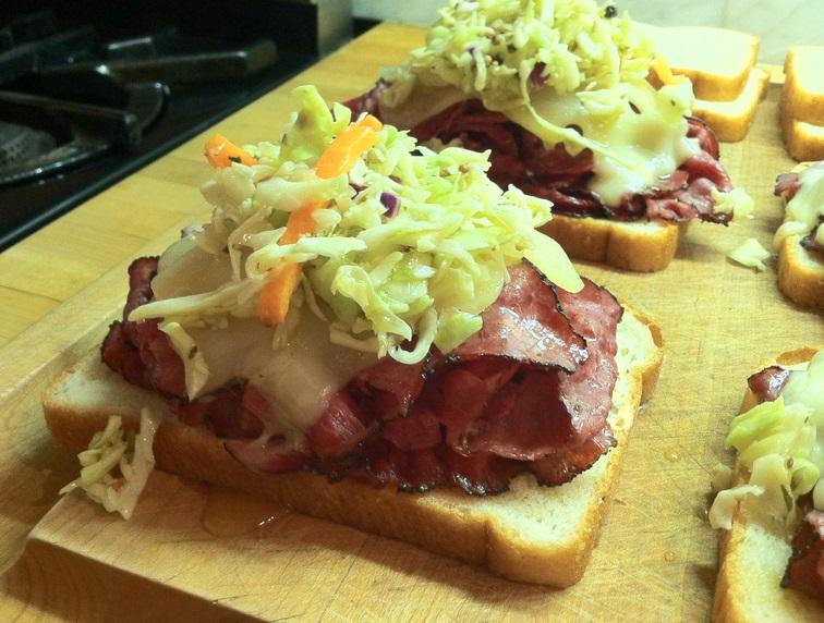 Pastrami & Swiss Sandwich