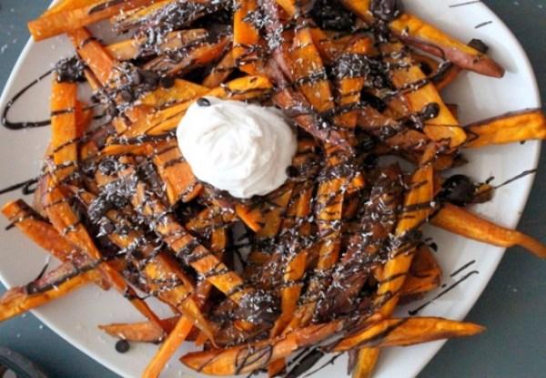 Sweet Potato Dessert Fries