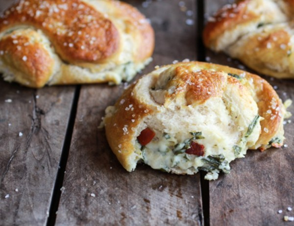 Loaded and Stuffed Beer Soft Pretzels