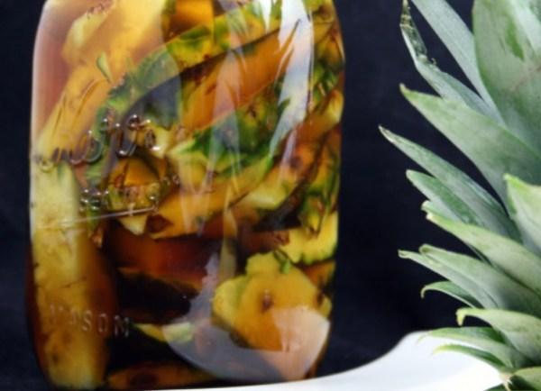 Homemade Pineapple Vinegar