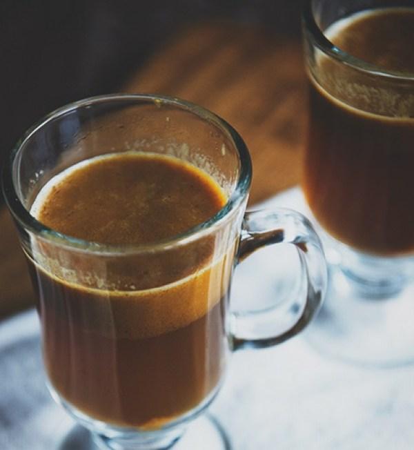 Hot Pumpkin Buttered Rum