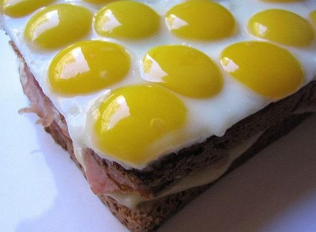 World's Best Ham and Eggs Sandwich