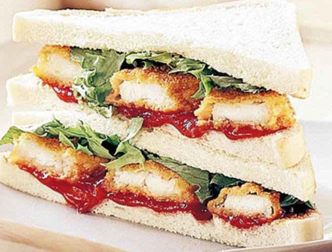 World's Best Fish Finger Sandwich