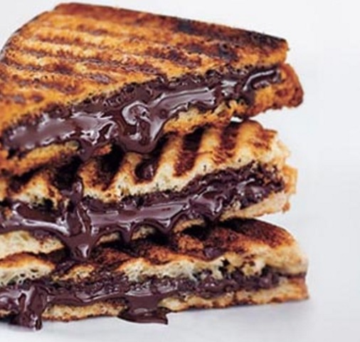 World's Best Grilled Chocolate Sandwich