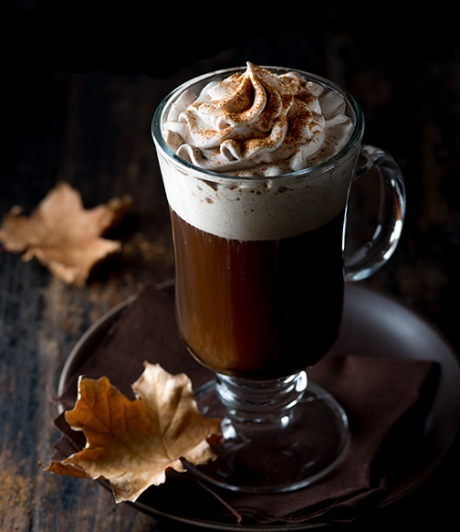 Spiced Irish Coffee