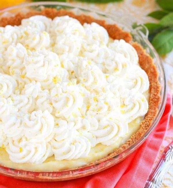 Lemon Cream Graham Cracker Pie