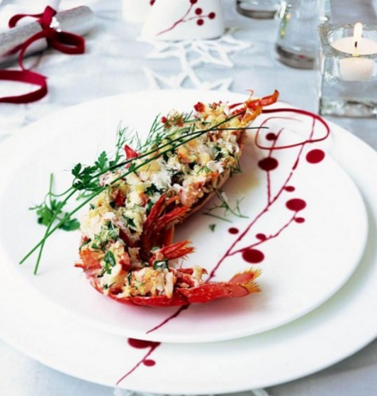 Grilled Lobster Thermidor