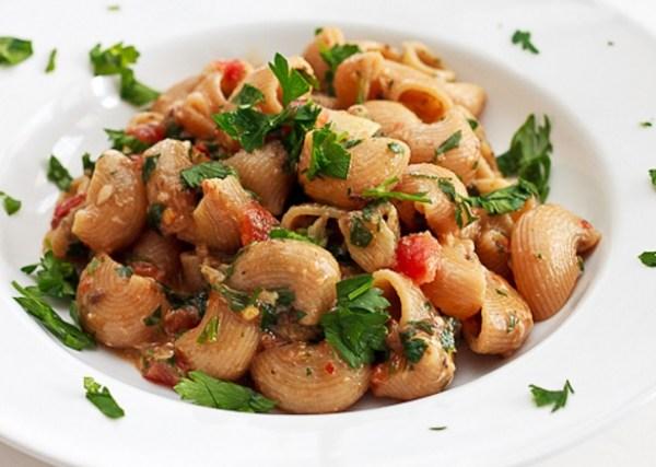 Sardine Pasta with Fresh Tomatoes