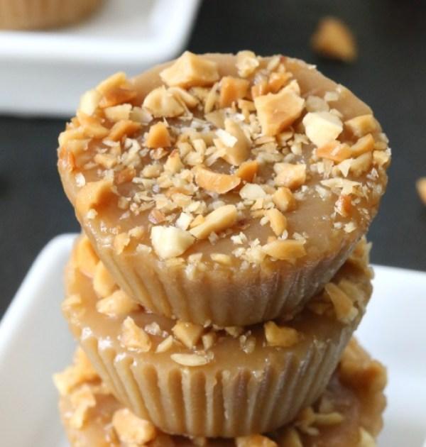 Maple Peanut Butter Fudge