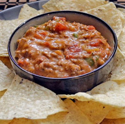 Beefy Mexican Nacho Dip