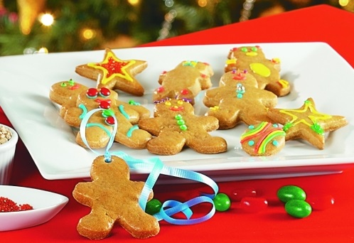 Maple Syrup Gingerbread Cookies