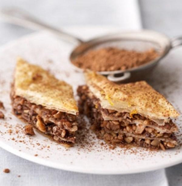 Chocolate-Orange & Hazelnut Baklava