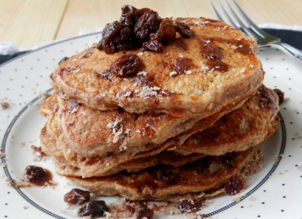 Raisin Bran Pancakes