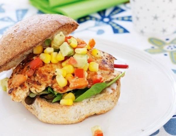 Healthy Chicken Burgers
