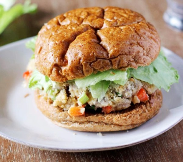 Healthy Tuna Burgers