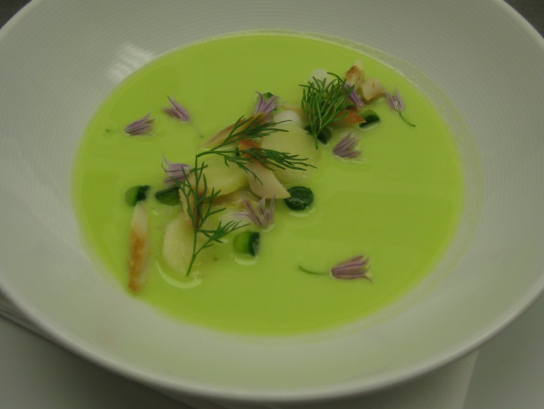 Cucumber Vichyssoise