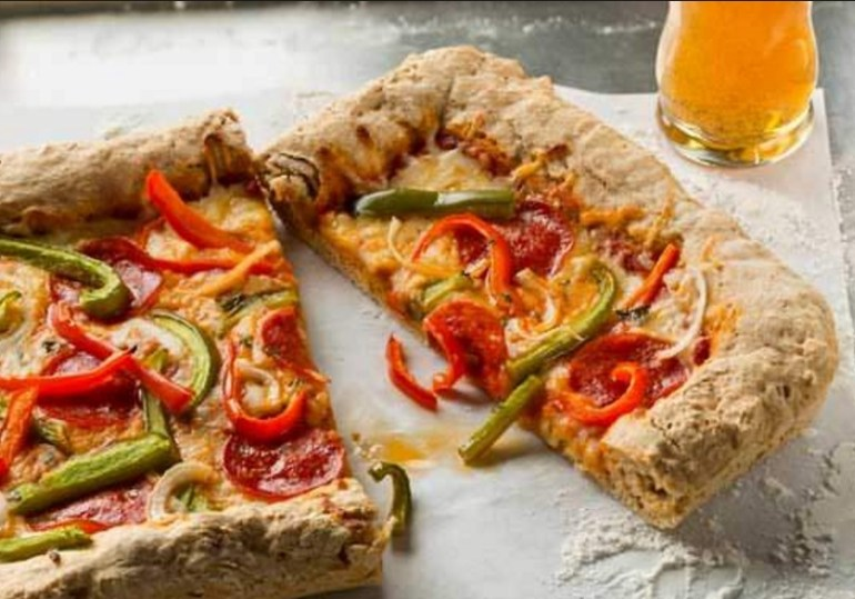 Lager-Infused Pizza