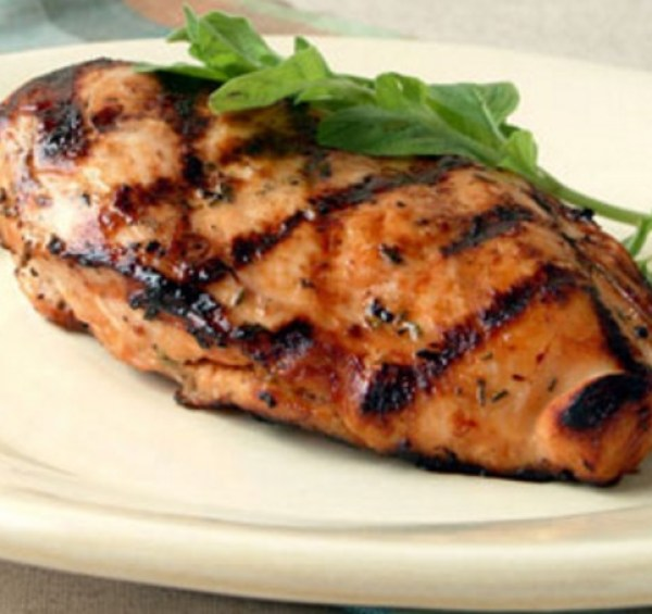 Lager and Lemon-Grilled Chicken
