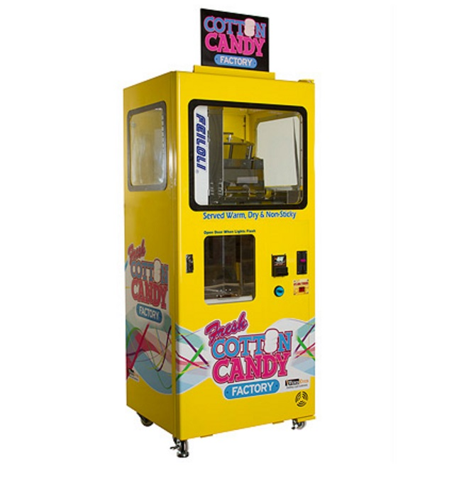 Cotton Candy Vending Machine