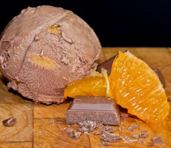 Terry's Christmas Chocolate Orange Ice Cream