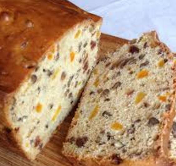 Apricot Date Nut Bread