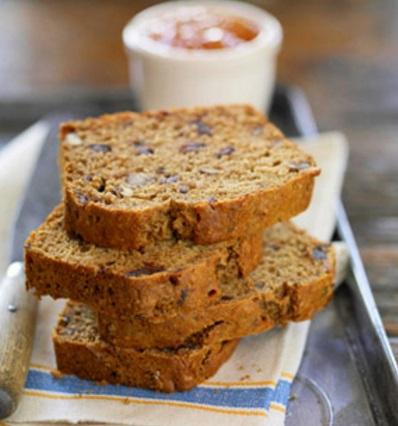 Maple Date Nut Bread