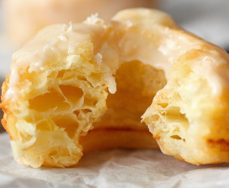 Puff Pastry Ring Donuts
