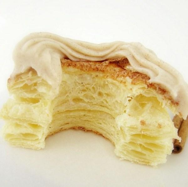 Cinnamon Cream Cheese Puff Pastry Donuts