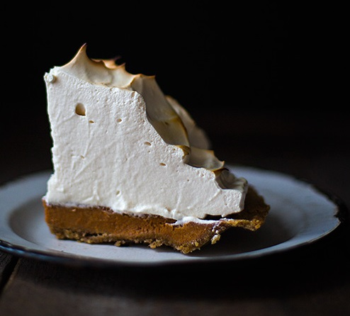 Sweet Potato Meringue Pie