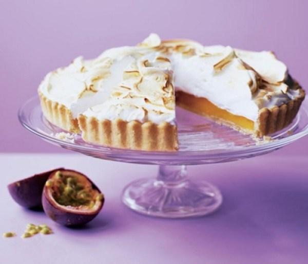 Orange & Passion Fruit Meringue Pie