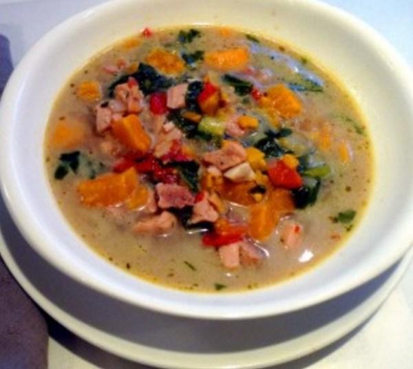 Chicken Pepper Pot Soup